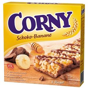 CORNY Schoko-Banane Müsliriegel 6 Riegel
