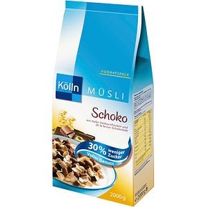 Kölln Schoko 30 weniger Zucker Müsli 2,0 kg