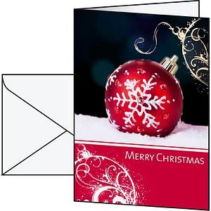 10 SIGEL Weihnachtskarten Felicity DIN A6 DS013