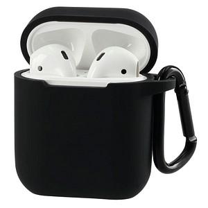 hama Schutzh uuml lle f uuml r Apple AirPods 1. und 2. Generation schwarz