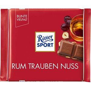 Ritter SPORT RUM TRAUBEN NUSS Schokolade 100,0 g