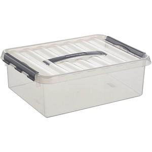 sunware Q-line Aufbewahrungsbox 10,0 l transparent 40,0 x 30,0 x 12,0 cm