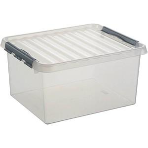 sunware Q-line Aufbewahrungsbox 36,0 l transparent 50,0 x 40,0 x 26,0 cm