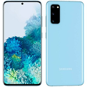 SAMSUNG Galaxy S20 5G Dual-SIM-Smartphone cloud blue 128 GB