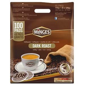 MINGES PREMIUM DARK ROAST Kaffeepads 108 Pads