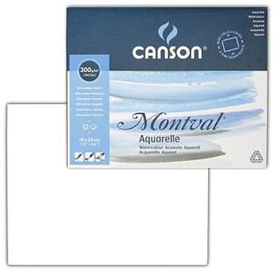 canson Aquarellblock Montval 19,0 x 24,0 cm 88806462