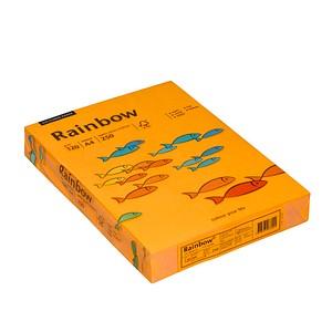 Rainbow Kopierpapier COLOURED PAPER mittelorange DIN A4 120 g/qm 250 Blatt