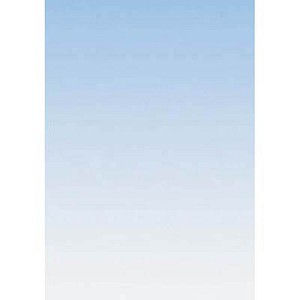 SIGEL Motivpapier Farbverlauf Farbverlauf blau DIN A4 90 g/qm 100 Blatt DP344