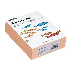 Rainbow Kopierpapier COLOURED PAPER lachs DIN A5 80 g/qm 500 Blatt