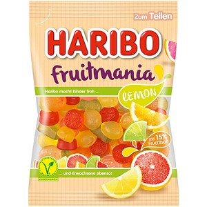 Fruchtgummis fruitmania LEMON von HARIBO