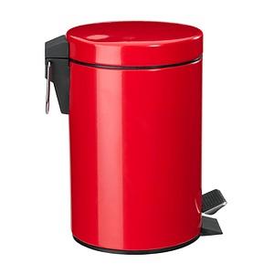 Zeller Mülleimer 3,0 l rot