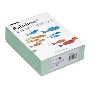 Rainbow Kopierpapier COLOURED PAPER mittelgrün DIN A5 80 g/qm 500 Blatt