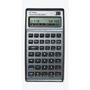 HP 17bII+ Finanzrechner