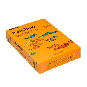 Rainbow Kopierpapier COLOURED PAPER mittelorange DIN A4 160 g/qm 250 Blatt