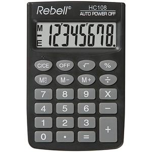Rebell HC 108 Taschenrechner