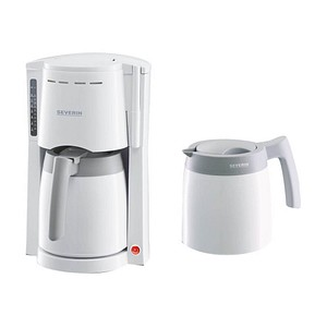 SEVERIN KA 9233 Kaffeemaschine weiß