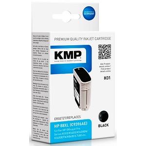 KMP H31 schwarz Tintenpatrone ersetzt HP 88XL (C9396AE)