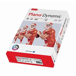 Plano Kopierpapier Dynamic 80 g/qm 500 Blatt