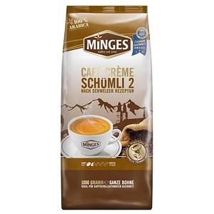 MINGES CAFFÈ CREMÉ Schümli 2 Kaffeebohnen 1,0 kg