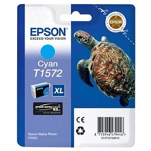 EPSON T1572XL cyan Tintenpatrone