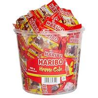 100 HARIBO Happy Cola Minibeutel (980 g)