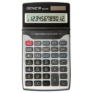GENIE 84 CSM Taschenrechner