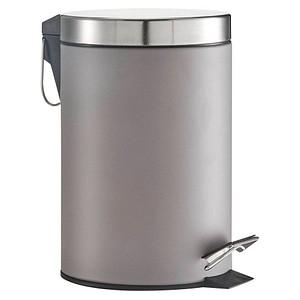 Zeller Mülleimer 3,0 l grau