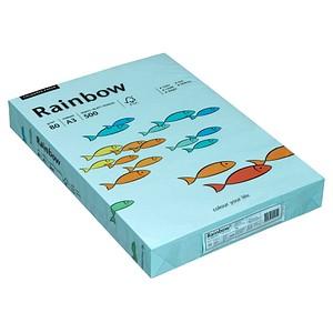 Rainbow Kopierpapier COLOURED PAPER mittelblau DIN A3 80 g/qm 500 Blatt