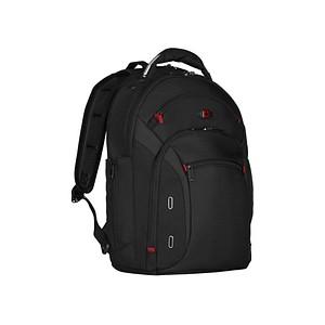 WENGER Laptop-Rucksack Gigabyte Kunstfaser schwarz 600627