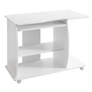 WOHNLING Diana Schreibtisch weiß rechteckig