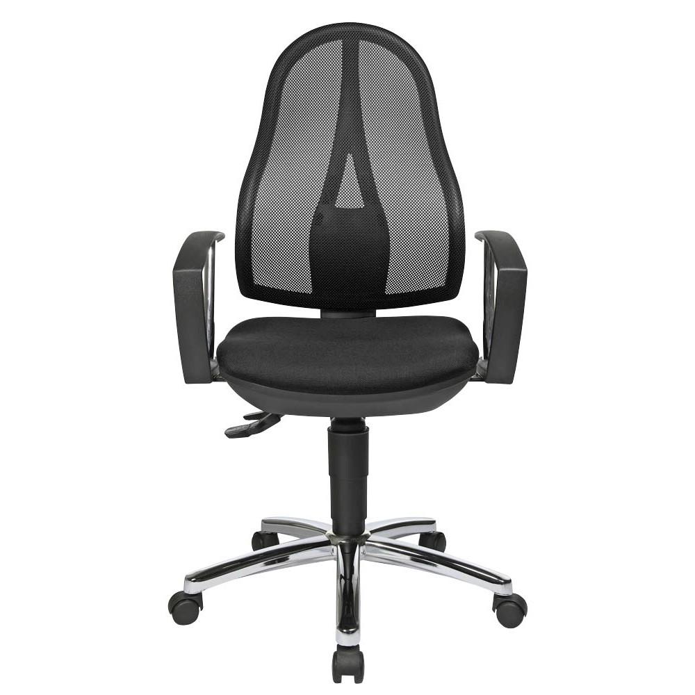 Bürostuhl mit ergonomischer Rückenlehne