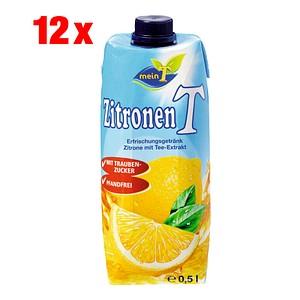 meinT Zitrone Fruchtsaftgetränk 12x 0,5 l