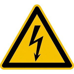 SafetyMarking® Warnaufkleber - Warnung vor elektrischer Spannung