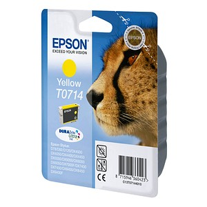 EPSON T0714 gelb Tintenpatrone