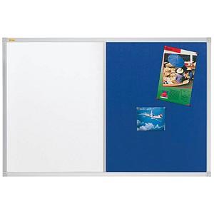 FRANKEN Whiteboard-Pinnwand X-tra!Line 90,0 x 60,0 cm Textil blau
