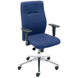 NOWY STYL Nero Lux Bürostuhl blau