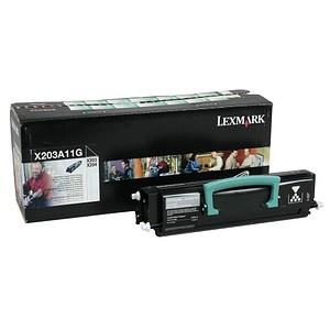 Lexmark X203A11G schwarz Toner