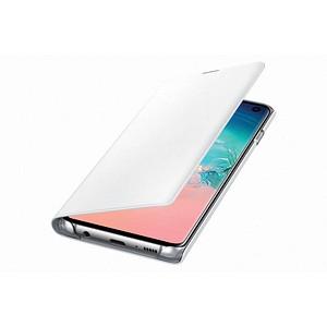 SAMSUNG LED View Cover Handy-H uuml lle f uuml r SAMSUNG Galaxy S10 wei szlig