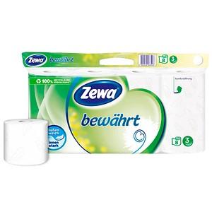 Zewa Toilettenpapier bewährt Weiß 3-lagig