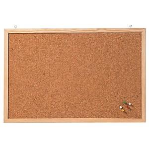 FRANKEN Pinnwand 60,0 x 40,0 cm Kork braun