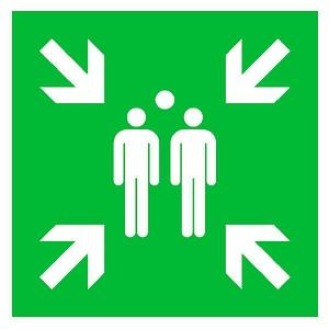 SafetyMarking® Rettungszeichen - Sammelstelle