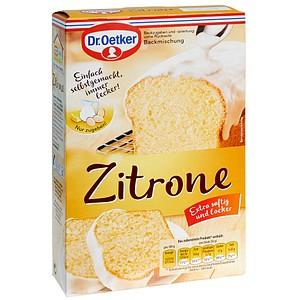 Dr.Oetker Zitrone Backmischung 486,0 g