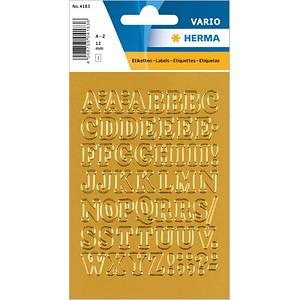 56 HERMA Klebebuchstaben 4183 Buchstaben A-Z