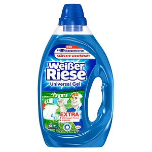 Henkel Weißer Riese Universal Gel Waschmittel 900,0 ml