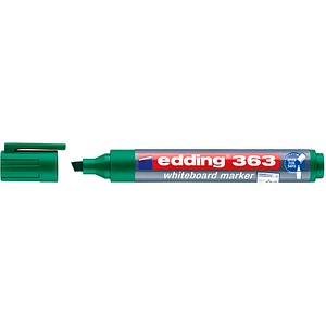 10 edding 363 Whiteboard-Marker grün 1,0 - 5,0 mm