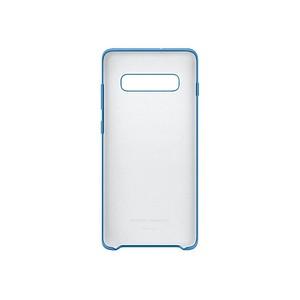 SAMSUNG Silikon Cover Handy-Cover f uuml r SAMSUNG Galaxy S10 blau
