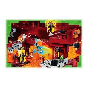 LEGO® Minecraft 21154 Die Brücke Bausatz