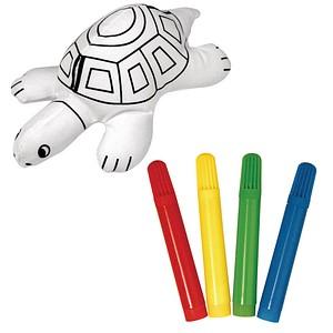 Rayher Stofftier zum Bemalen Schildkröte 7551500