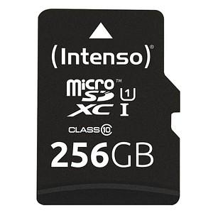Intenso Speicherkarte microSDXC-Card PREMIUM 256 GB