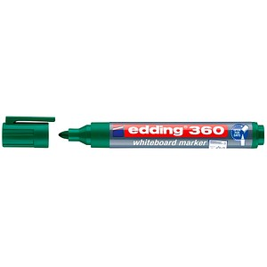 10 edding 360 Whiteboard-Marker grün 1,5 - 3,0 mm